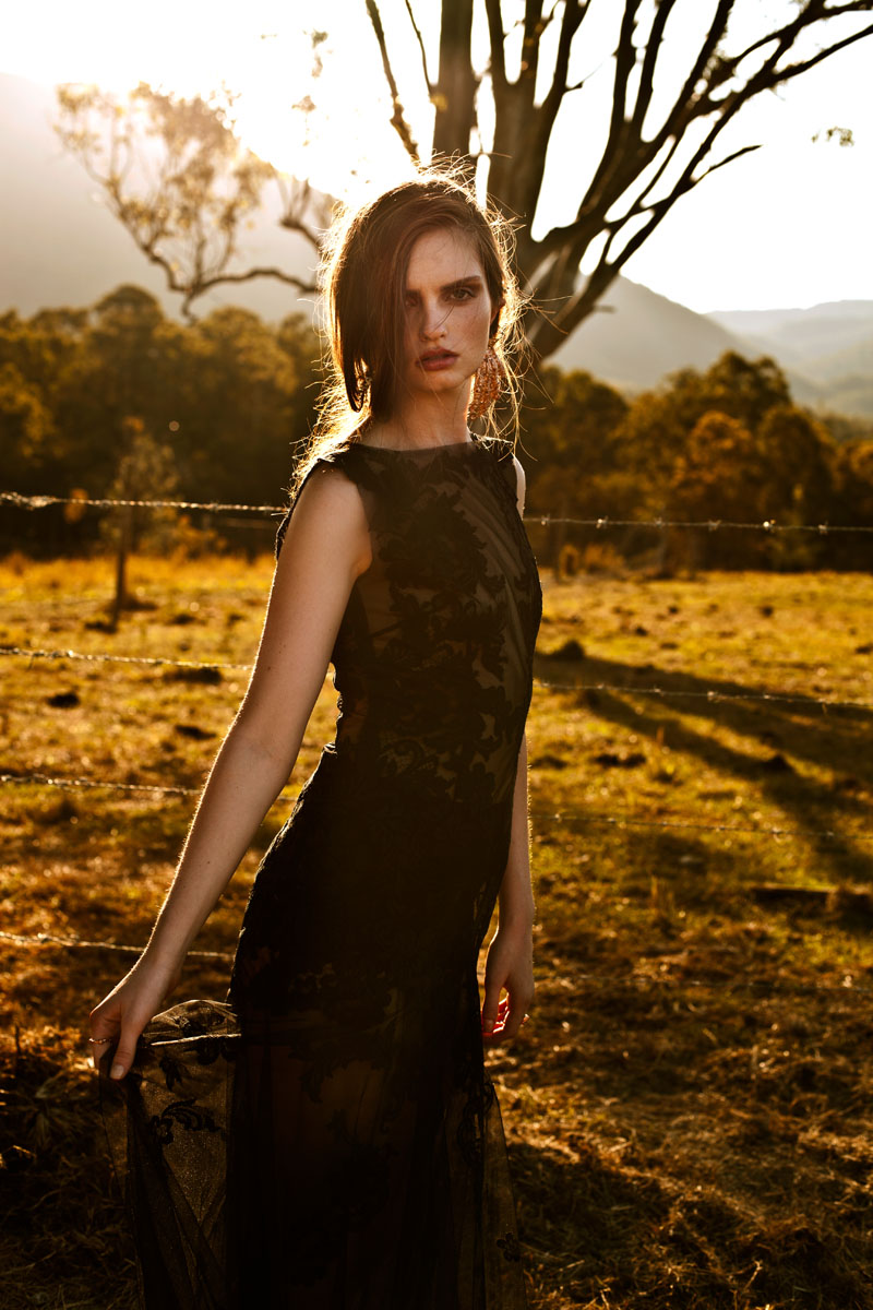 """Zoe Penman by Andrea Jankovic in """"Bewitching Beauty"""" for Fashion Gone Rogue"""