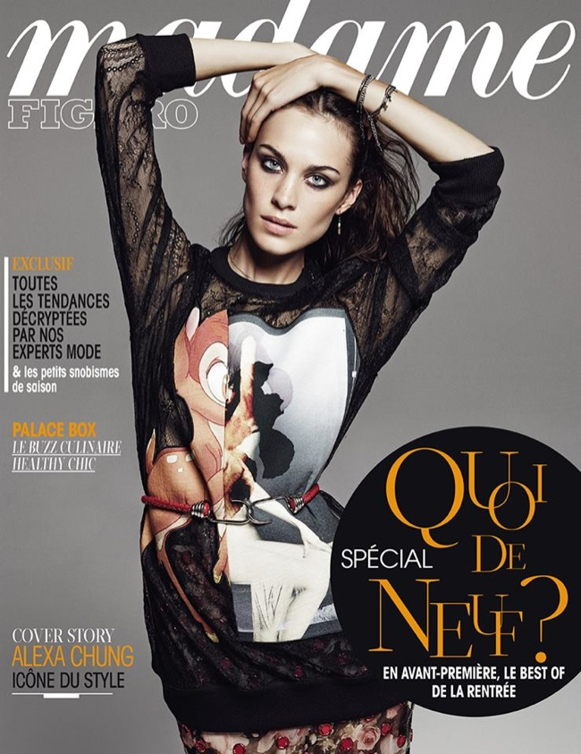 alexa chung givenchy bambi cover Fall Must Have | Givenchys Bambi Sweatshirt