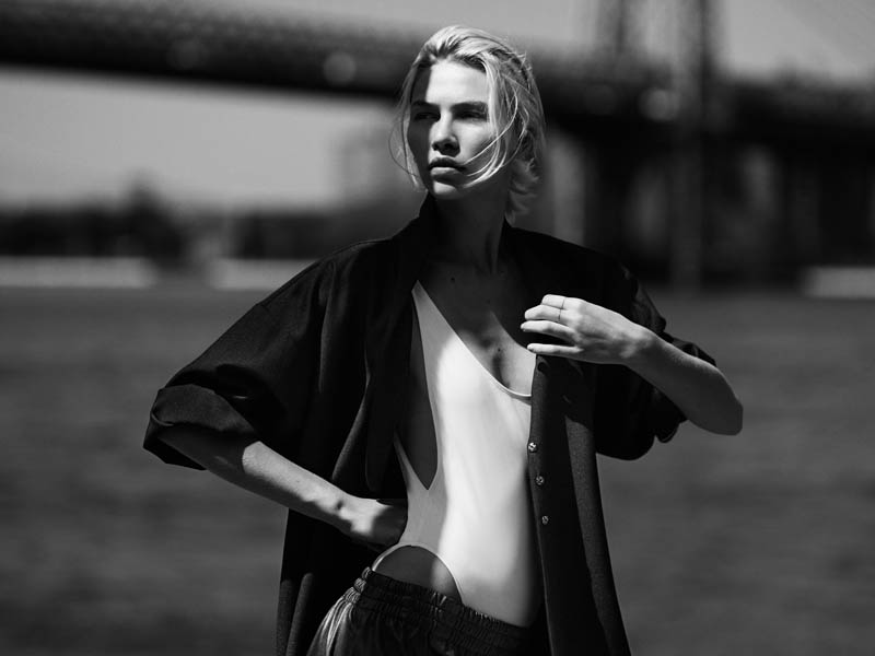 aline weber rma8 Aline Weber Poses in Brooklyn for Annemarieke van Drimmelen in Rika Magazine