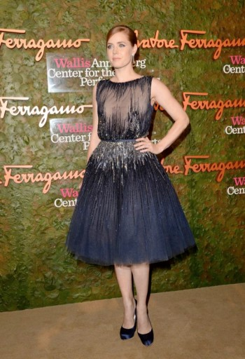 Amy Adams Wears Elie Saab at the Wallis Annenberg Centre Performing Arts Inaugural Gala