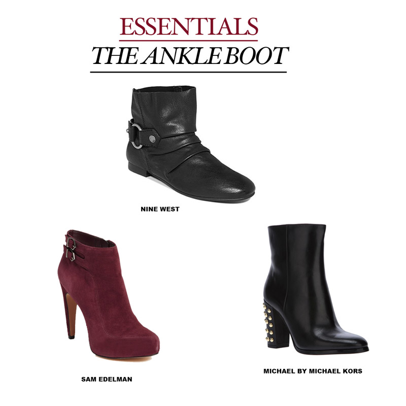 ankle boot open The Ankle Boot | Fall Essentials