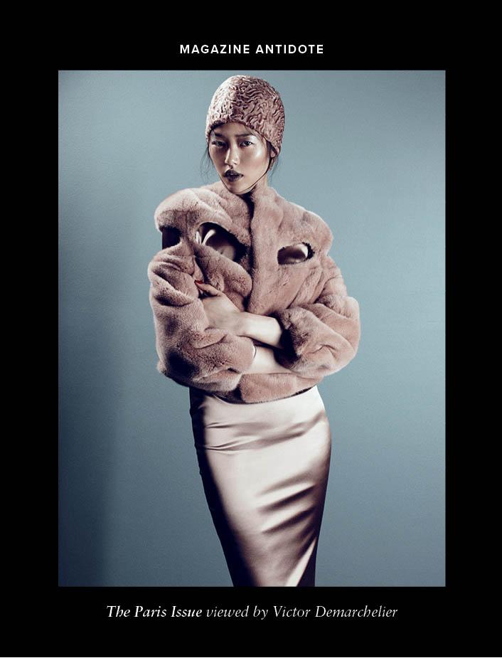 Antidote F/W 2013 Covers | Karlie Kloss, Liu Wen, Kasia Struss + More
