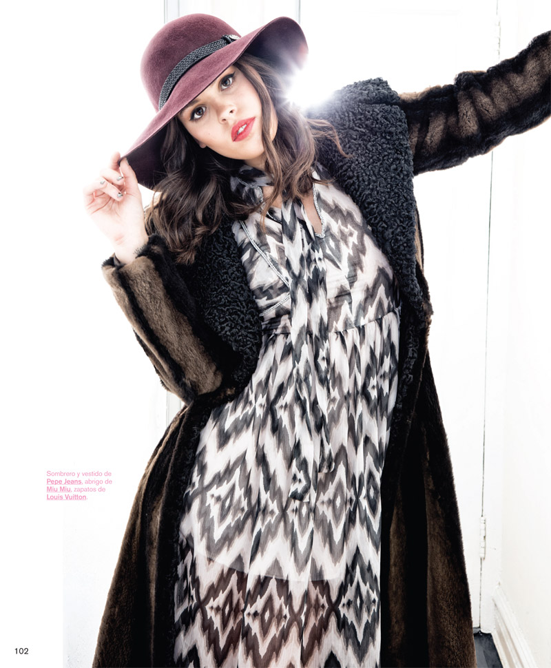 Atlanta De Cadenet Appears in Nylon Mexico October 2013 Cover Story
