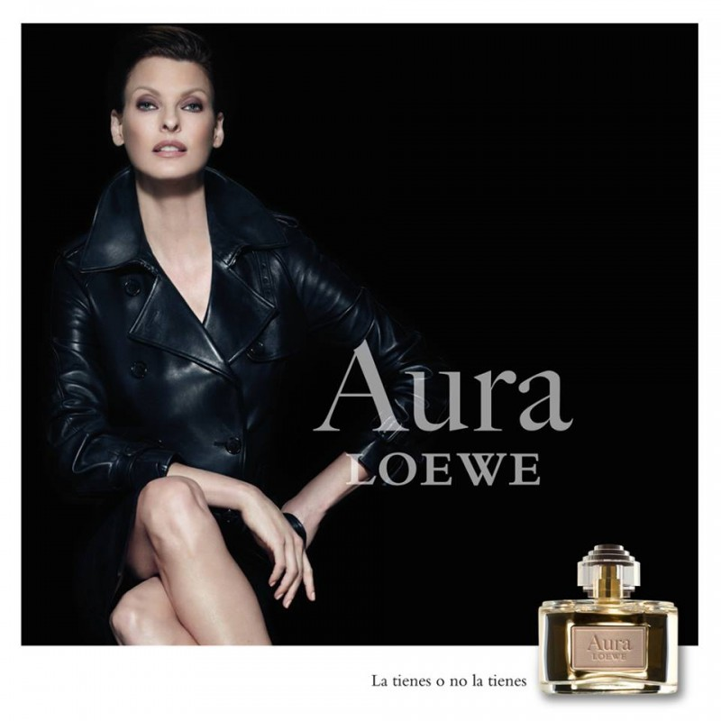"Loewe Taps Linda Evangelista for ""Aura"" Fragrance Campaign"