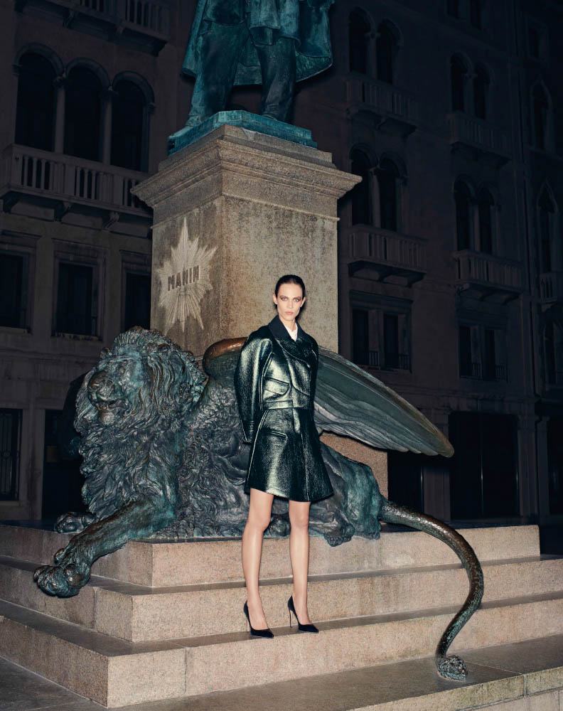 aymeline valade model3 Aymeline Valade Poses for Bergdorf Goodmans Fall Issue by Venetia Scott