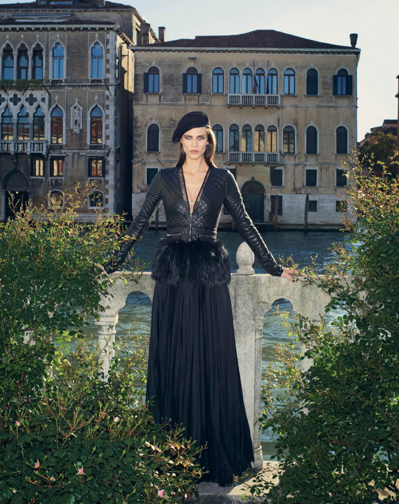aymeline valade model5 Aymeline Valade Poses for Bergdorf Goodmans Fall Issue by Venetia Scott