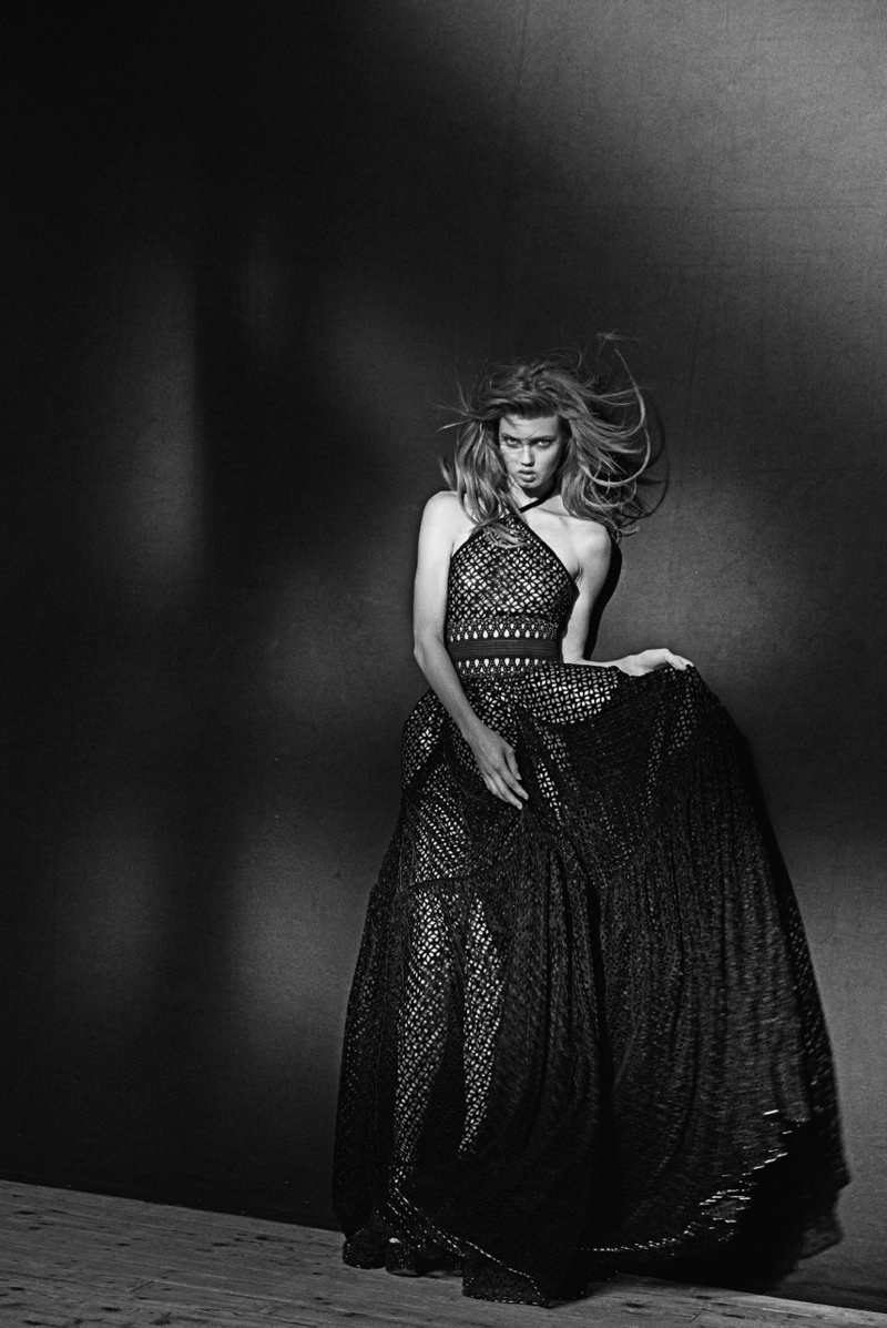 azzedine alaia exhibit12 Lindsey Wixson Poses for Azzedine Alaia Retrospective by Peter Lindbergh