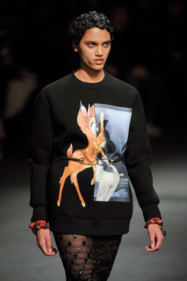 bambi sweater runway Fall Must Have | Givenchys Bambi Sweatshirt