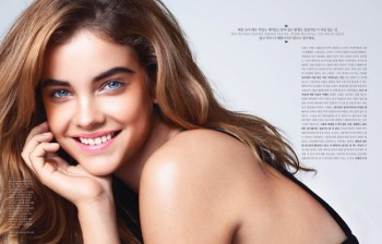 Barbara Palvin Stars in the October Cover Story of Elle Korea