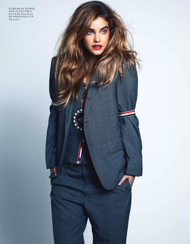 barbara palvin bravo8 Barbara Palvin Stars in the October Cover Story of Elle Korea