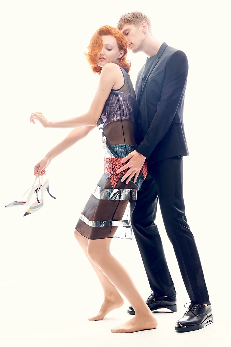 Adriana Lima, Miranda Kerr + More Get Romantic for Harper's Bazaar Spread