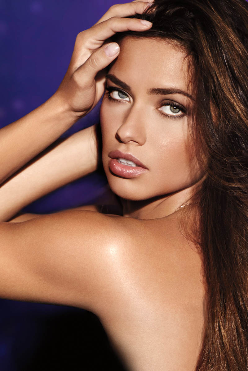 """Adriana Lima Fronts """"Night"""" Fragrance Campaign for Victoria's Secret"""