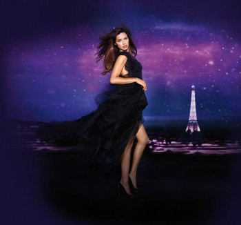 "Adriana Lima Fronts ""Night"" Fragrance Campaign for Victoria's Secret"