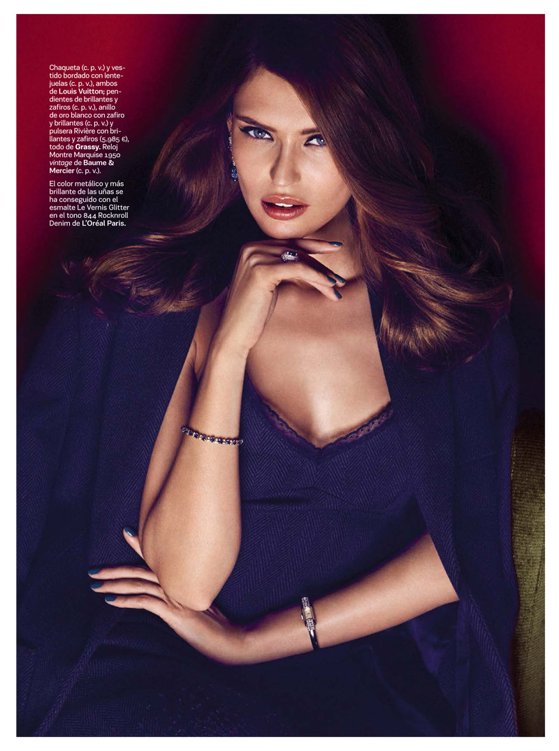 Bianca Balti Dazzles in S Moda October 2013 by Alvaro Beamud Cortes