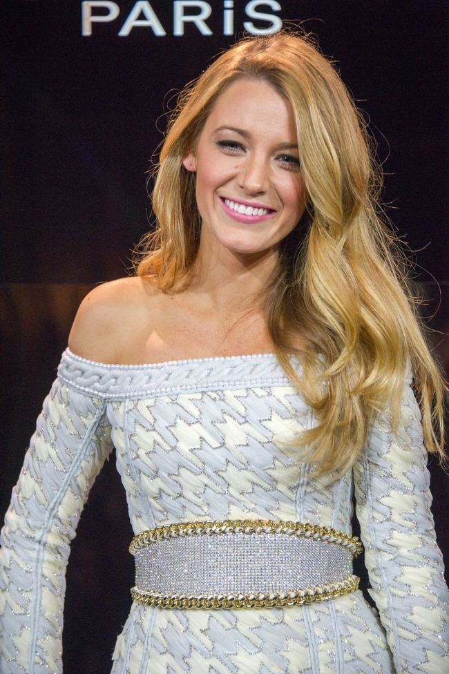 blake lively loreal announcement1 Actress Blake Lively Tapped as Latest Face of LOreal Paris