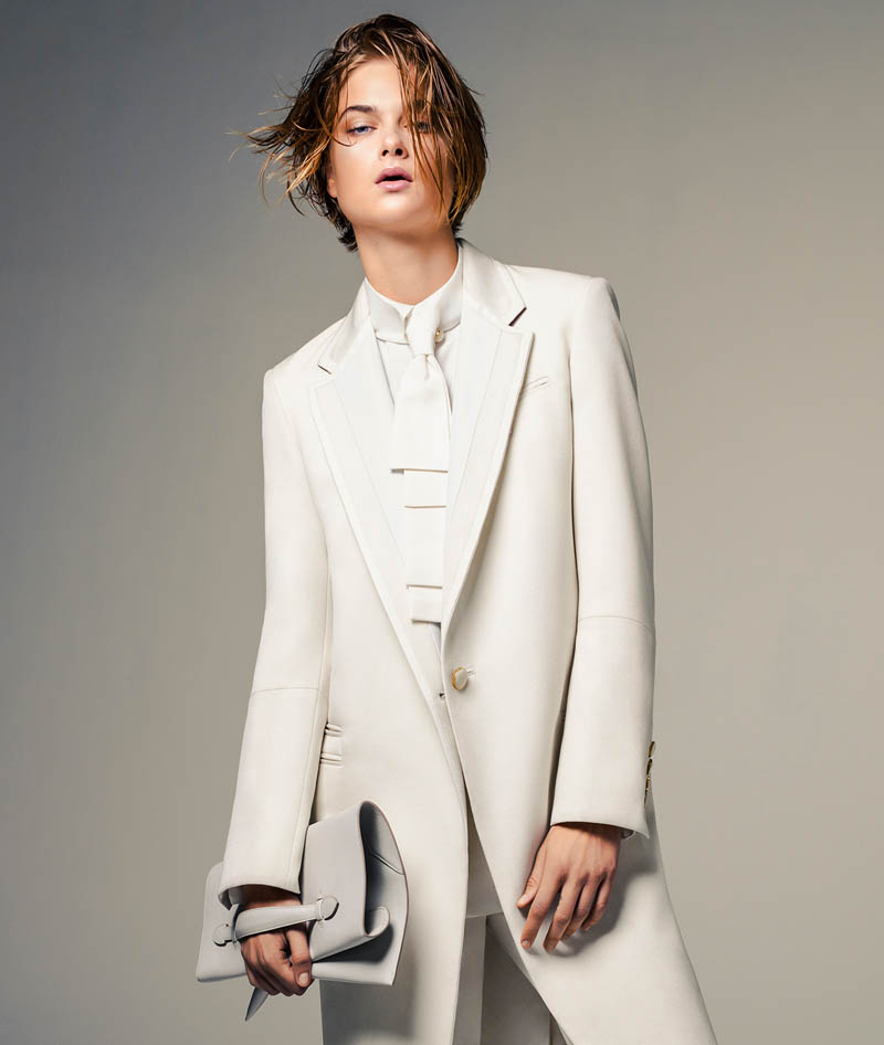 bo don jacques dequeker1 Bo Don Wears All White for Vogue Brazil by Jacques Dequeker