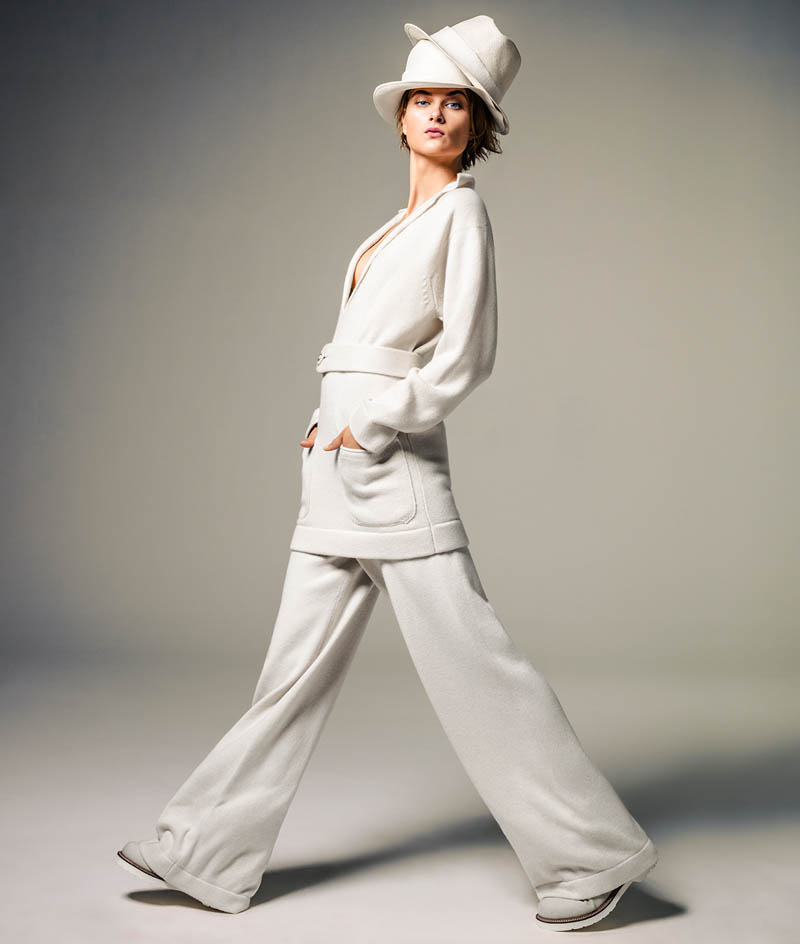 bo don jacques dequeker6 Bo Don Wears All White for Vogue Brazil by Jacques Dequeker