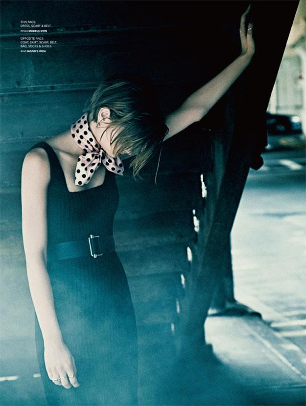 Bo Don Wears Miu Miu for Commons & Sense Magazine by Chris Craymer