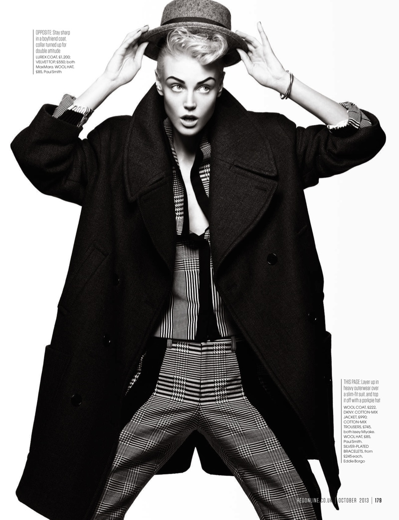boy meets girl2 Sam Rayner Plays a Tomboy for Red UK October 2013 by Max Abadian