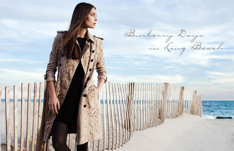 "burberry paula 800x517 Paula by Della Bass in ""Burberry Days in Long Beach"" for Fashion Gone Rogue"