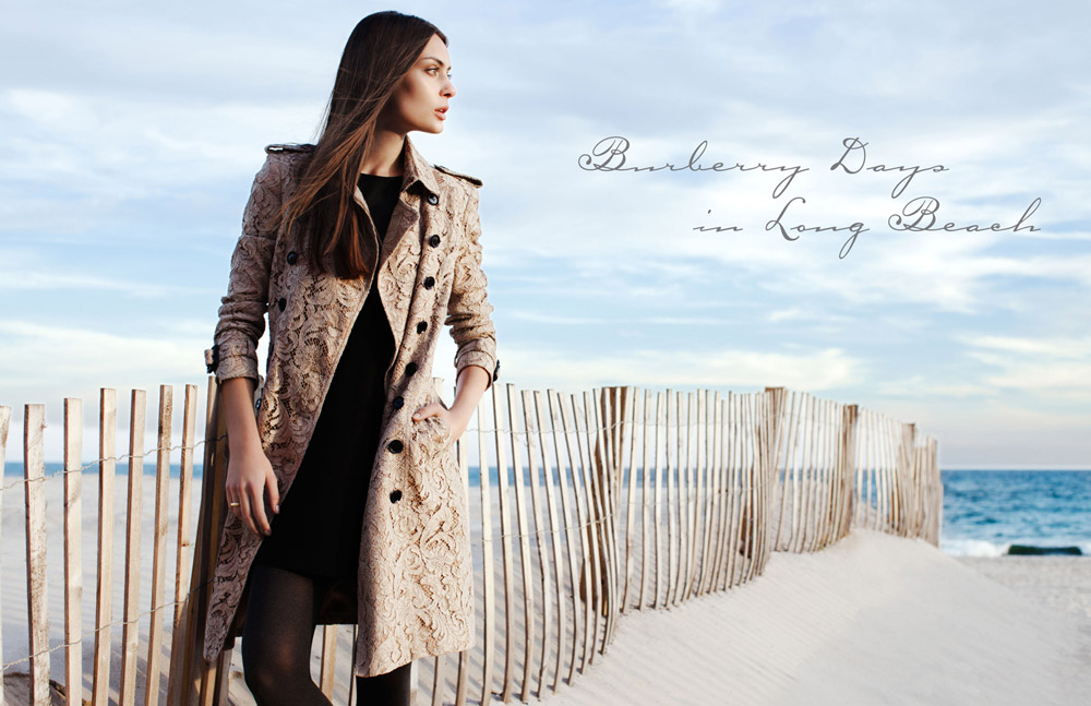 "Paula by Della Bass in ""Burberry Days in Long Beach"" for Fashion Gone Rogue"