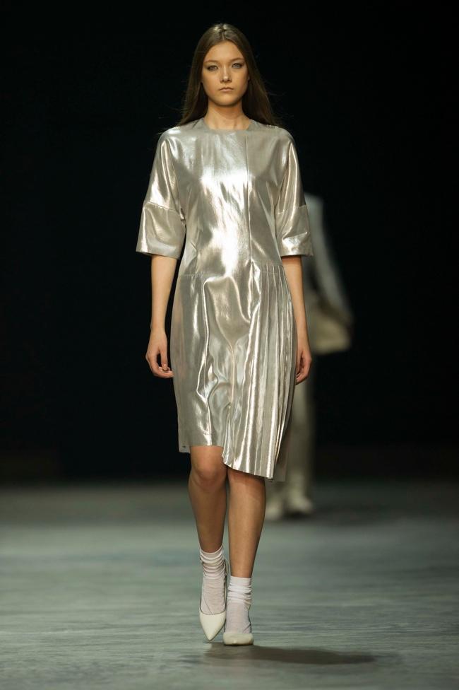 calvin klein platinum2 Liu Wen, Soo Joo + More Walk Calvin Klein Platinum Spring/Summer 2014 in Hong Kong
