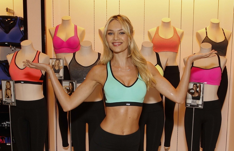 candice vs candids3 Hot Shots | Candice Swanepoel Celebrating Victorias Secret Sport in Houston