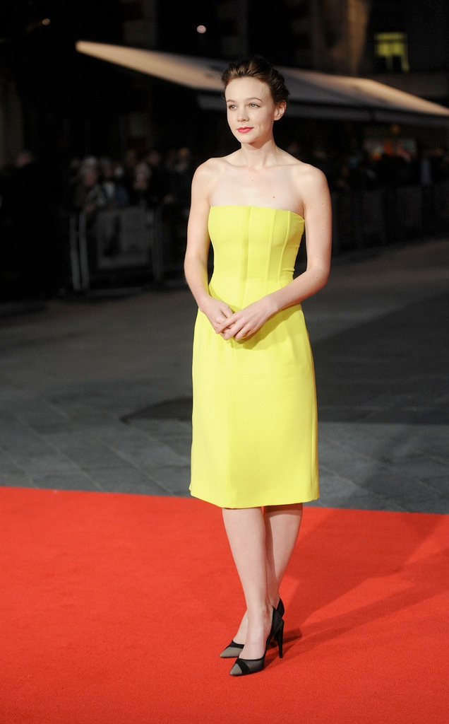 carey dior1 Carey Mulligan Wears Dior at the 57th BFI London Film Festival
