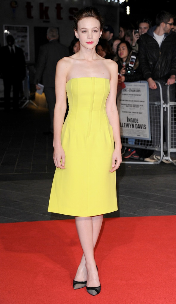 carey dior2 Carey Mulligan Wears Dior at the 57th BFI London Film Festival