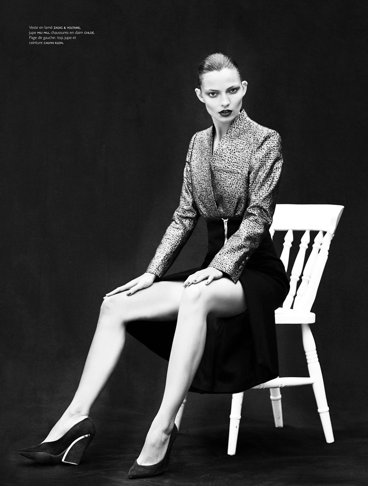 carola remer mixte3 Carola Remer Shines for Mixt(e) Autumn/Winter 2013 by Emma Tempest