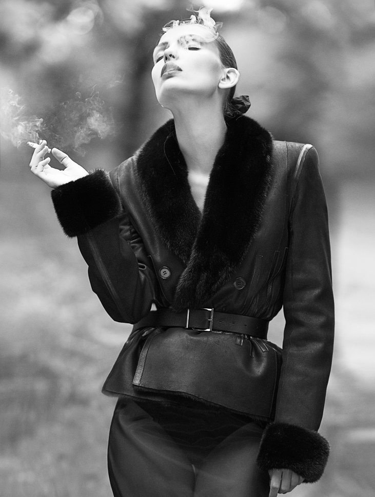 Carola Remer Shines for Mixt(e) Autumn/Winter 2013 by Emma Tempest