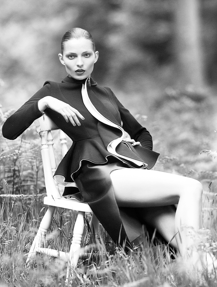 carola remer mixte6 Carola Remer Shines for Mixt(e) Autumn/Winter 2013 by Emma Tempest