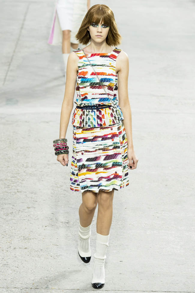 chanel spring 2014 68 20 Standout Looks from Milan & Paris Fashion Week Spring/Summer 2014