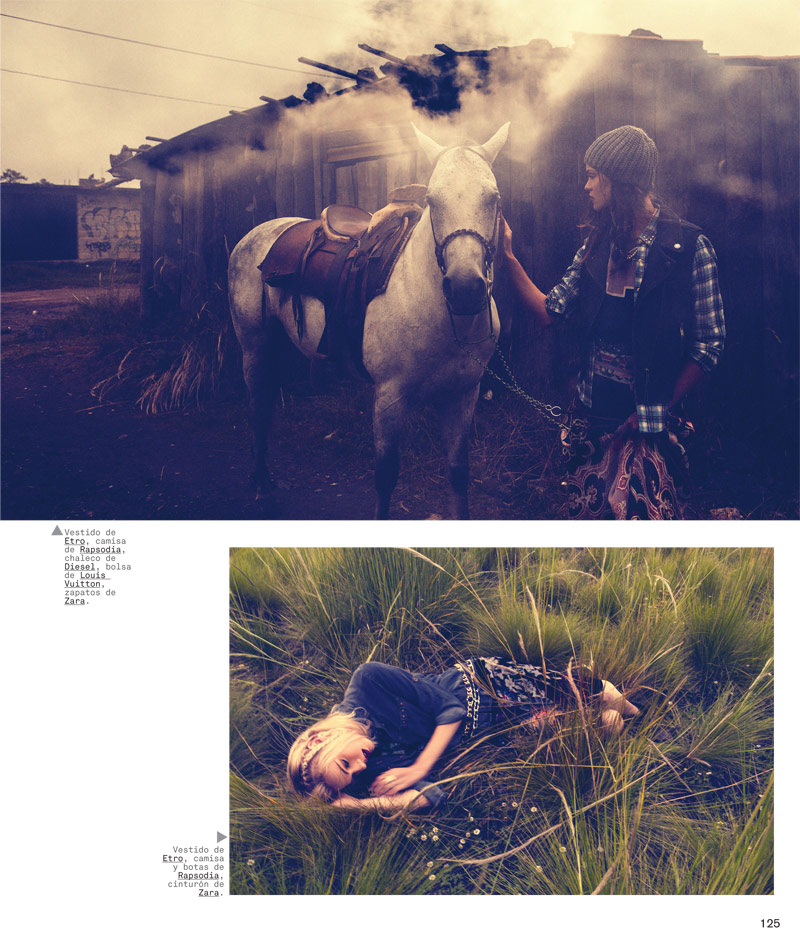 Jess & Ollie Are Nature Girls for Nylon Mexico Shoot by Chris Hunt