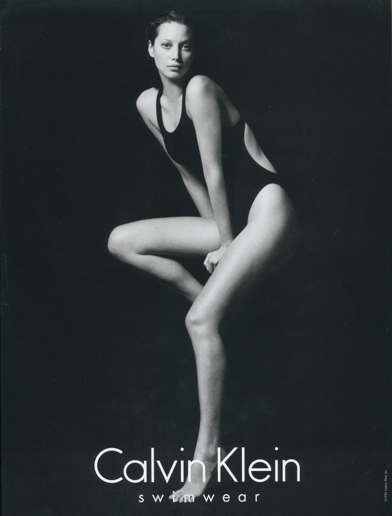 christy calvin klein ads 19952 Throwback Thursday | Christy Turlington for Calvin Klein Underwear 1995 Ads
