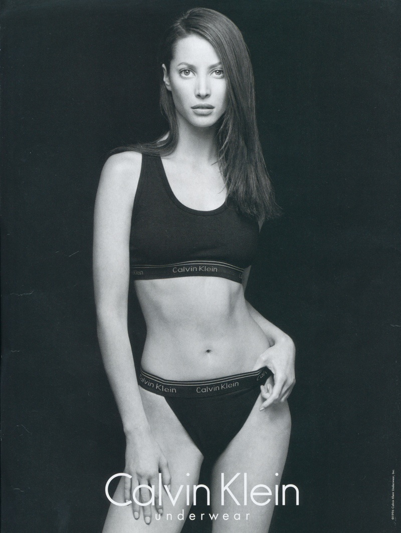 christy calvin klein ads 19954 Throwback Thursday | Christy Turlington for Calvin Klein Underwear 1995 Ads