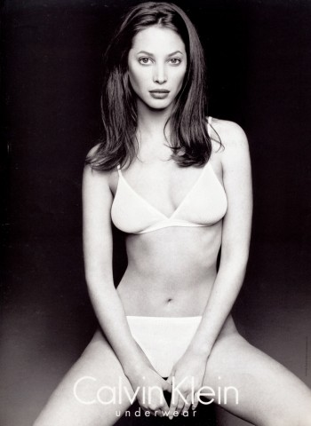 Throwback Thursday | Christy Turlington for Calvin Klein Underwear 1995 Ads
