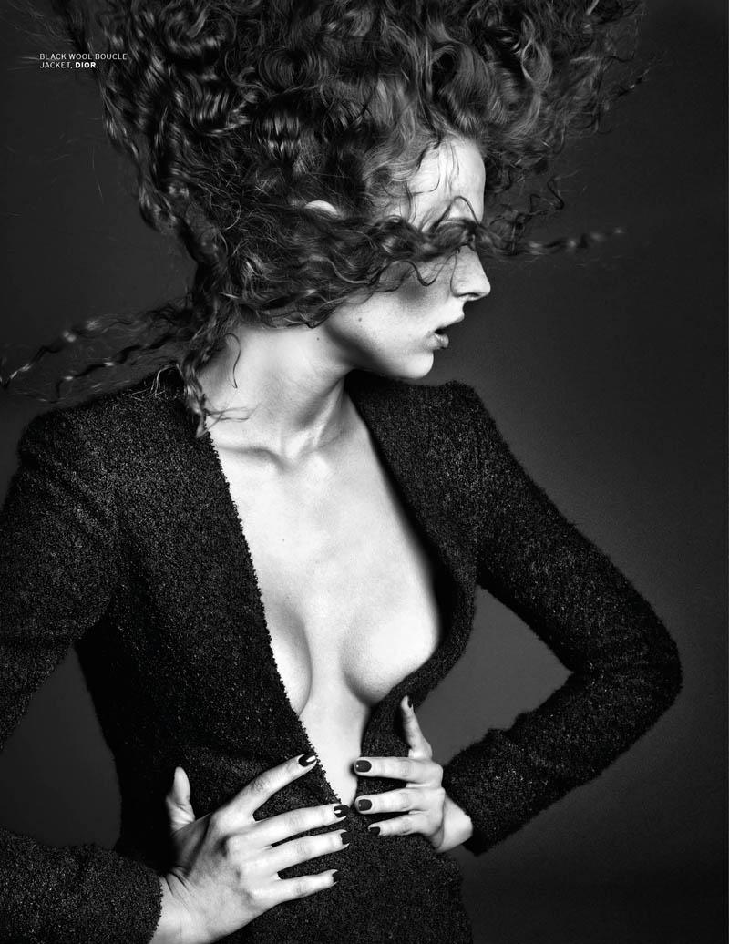 Vlada Saulchenkova Gets Glam for Chuando & Frey in L'Officiel Singapore Shoot