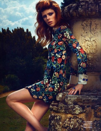 Coco Rocha Dazzles in the October 2013 Cover Story of L'Officiel Russia