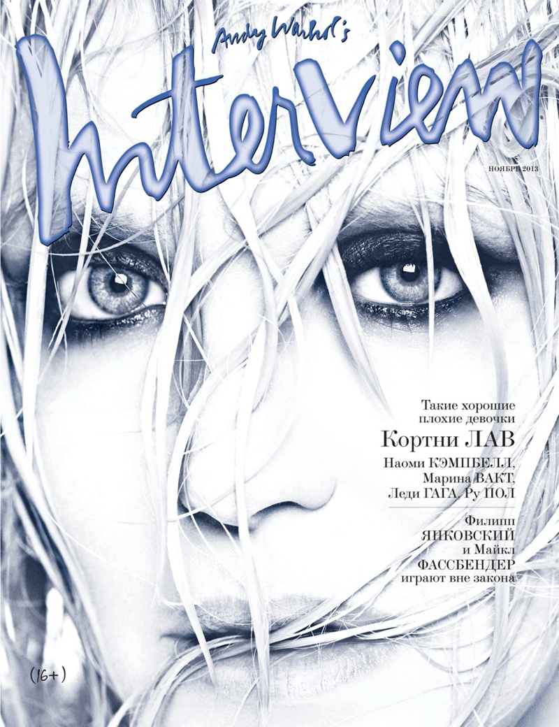 courtney love5 Courtney Love Poses for Francesco Carrozzini in Interview Russia Cover Shoot