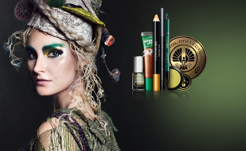 covergirl hunger games7 CoverGirl Gets Inspired by The Hunger Games for Capitol Beauty Collection