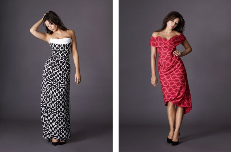 daisy lowe matches2 800x528 Daisy Lowe Poses in Matches Fashion x Vivienne Westwood Collaboration
