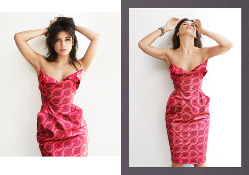 daisy lowe matches4 Daisy Lowe Poses in Matches Fashion x Vivienne Westwood Collaboration