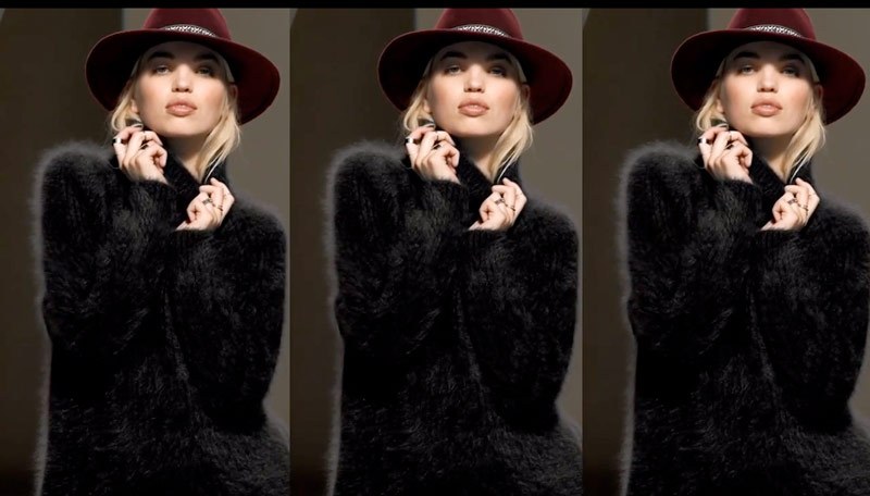 daphne hm video Daphne Groeneveld Models Fall Looks from H&M in New Video