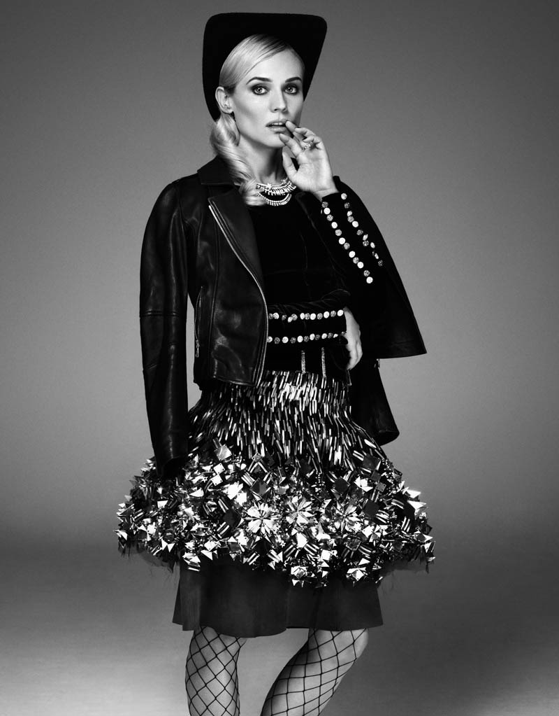 diane kruger jason kim4 Diane Kruger Wows in the November Issue of Glamour Paris by Jason Kim