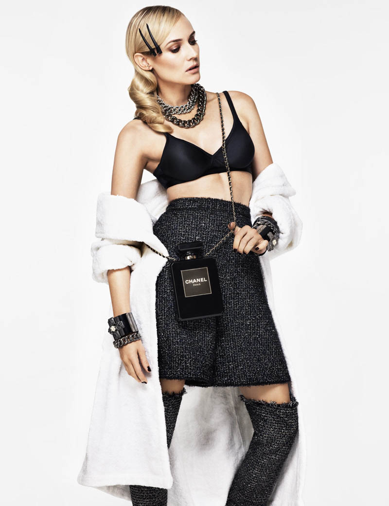 diane kruger jason kim7 Diane Kruger Wows in the November Issue of Glamour Paris by Jason Kim