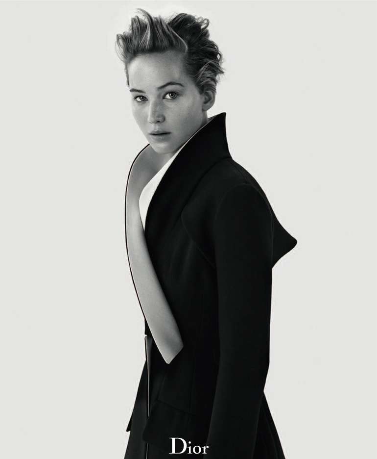 dior mag jennifer lawrence2 Jennifer Lawrence Sits for Dior Magazine Fall/Winter 2013