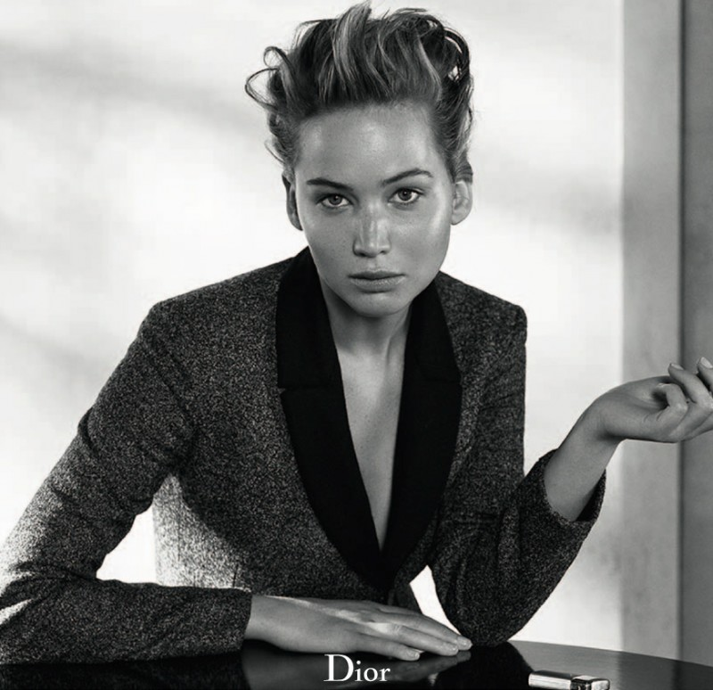 Jennifer Lawrence Sits for Dior Magazine Fall/Winter 2013