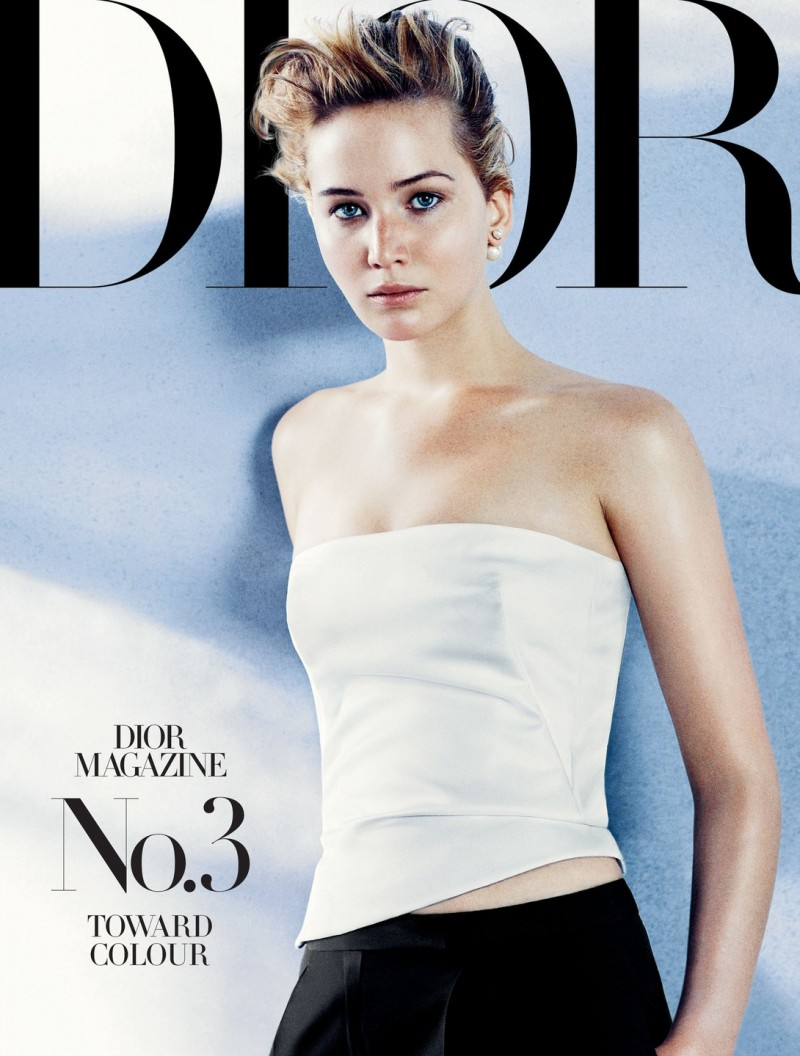 dior mag jennifer lawrence6 800x1056 Jennifer Lawrence Sits for Dior Magazine Fall/Winter 2013