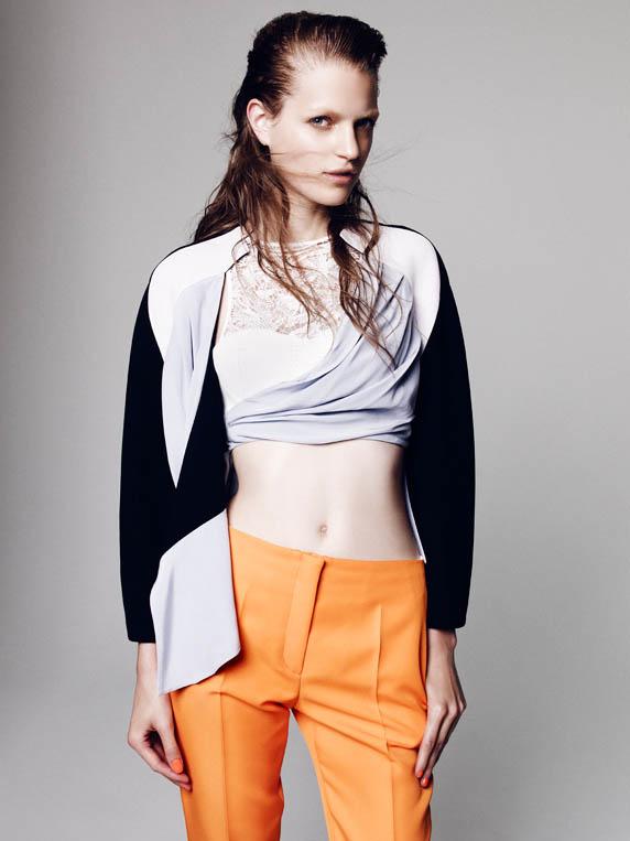 dior special2 Magdalena Langrova Dons Dior Looks for Nagi Sakai in Harpers Bazaar Spain